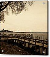 The Docks On Lake Minnetonka Acrylic Print