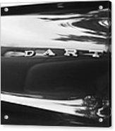 The Dodge Dart Acrylic Print