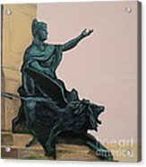 The Doge And Winged Lion At Venice Acrylic Print
