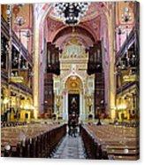 The Dohany Street Synagogue Budapest Acrylic Print