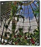 The Dome 002 Buffalo Botanical Gardens Series Acrylic Print