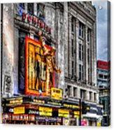 The Dominion Theatre Acrylic Print