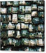 The Domino Roof Acrylic Print