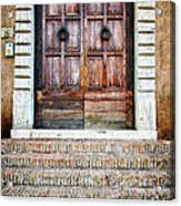 The Door At Number 5 Acrylic Print