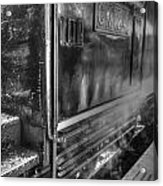 The Door Of Steam Train Acrylic Print