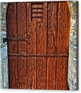 The Door - Vintage Art By Sharon Cummings Acrylic Print by Sharon Cummings