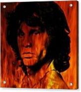 The Doors Light My Fire Acrylic Print