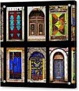 The Doors Of Yemen Acrylic Print