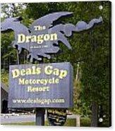 The Dragon Acrylic Print