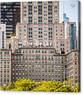 The Drake Hotel In Downtown Chicago Acrylic Print