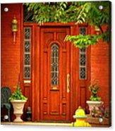 The Dream Door Acrylic Print