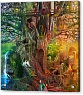 The Dreaming Tree Acrylic Print by Aimee Stewart