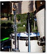The Drum Set Acrylic Print