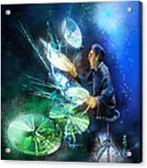 The Drummer 01 Acrylic Print