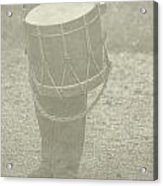The Drummer Acrylic Print