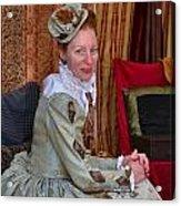 The Duchess Acrylic Print by Julie Dant