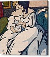 The Duchesse De Langeais Visiting The Vicomtesse De Beauseant Acrylic Print by Quint