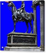 The Duke Of Wellington Goma Blue Acrylic Print