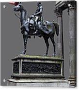 The Duke Of Wellington Goma  Grey Acrylic Print by John Farnan