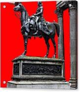 The Duke Of Wellington Red Acrylic Print