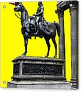 The Duke Of Wellington Yellow Acrylic Print