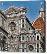 The Duomo And Baptistery Of St. John Acrylic Print
