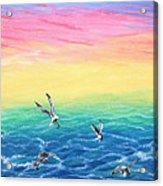 Sea To Sky Acrylic Print