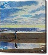 The Early Fisherman Acrylic Print
