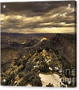 The Eastern Rim Of The Grand Canyon Acrylic Print
