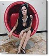 The Egg Chair  17 Acrylic Print