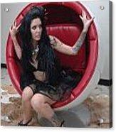 The Egg Chair 69 Acrylic Print