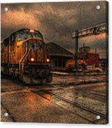 The Eight Ten Rolling Through Acrylic Print