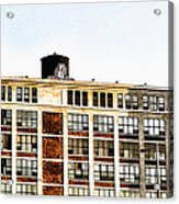 The Electric Factory Acrylic Print