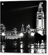 The Electric Tower Pan American Exposition Buffalo New York 1901 Acrylic Print