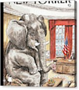 The Elephant In The Room Acrylic Print