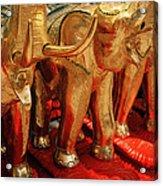 The Elephant Shrine Acrylic Print