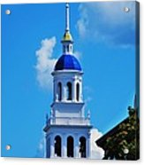 The Eliot House Tower, Harvard Acrylic Print