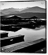 The Elkins Marina On Priest Lake Idaho Acrylic Print