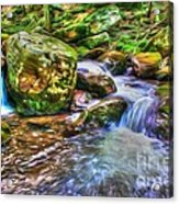 The Emerald Forest 2 Acrylic Print