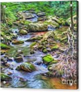 The Emerald Forest 6 Acrylic Print