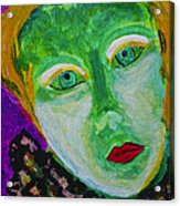 The Emerald Lady Acrylic Print