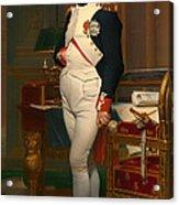 The Emperor Napoleon In His Study 1812 Acrylic Print
