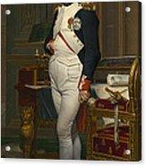The Emperor Napoleon In His Study Acrylic Print