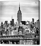 The Empire State Building Acrylic Print by John Farnan