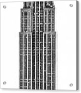 The Empire State Building Acrylic Print by Luciano Mortula