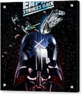 The Empire Strikes Back Phone Case Acrylic Print
