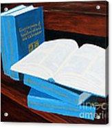 The Encyclopedia Of Newfoundland And Labrador - Joeys Books Acrylic Print