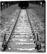 The End Of The Line Acrylic Print