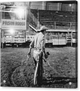The End Of The Rodeo Acrylic Print