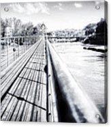 The Endless Bridge Acrylic Print
